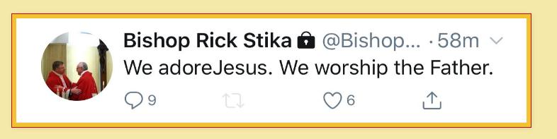 Stika Adore Jesus
