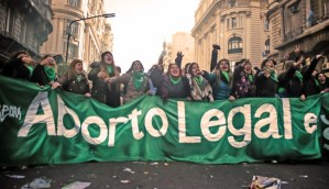 Argentine Citizens Celebrate Baby Killing